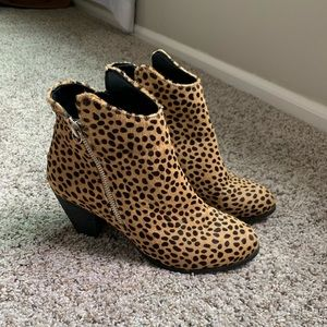 Sole society leopard boots
